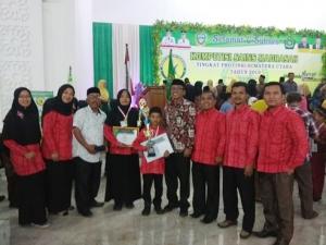 Kontingen KSM Karo raih 2 medali pada KSM Tingkat Prov. Sumut